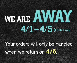 Your orders will be handled when we return on 4/6.
