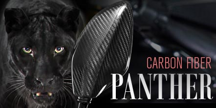 Panther- true carbon fiber mirrors