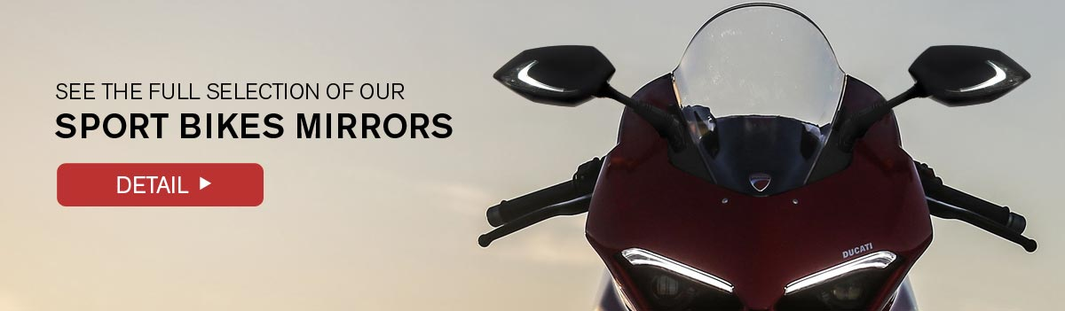 See the full selection of sport bikes mirrors