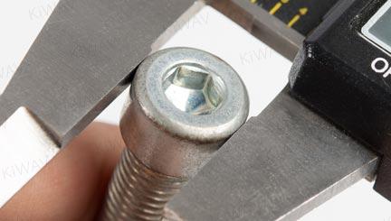 verchromt 6 Stücke ε 8mm Schraube Abdeckung Kappen M6 Inbus Innensechskant