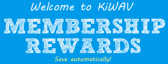 Welcome to KiWAV motors membership program! Save automatically!
