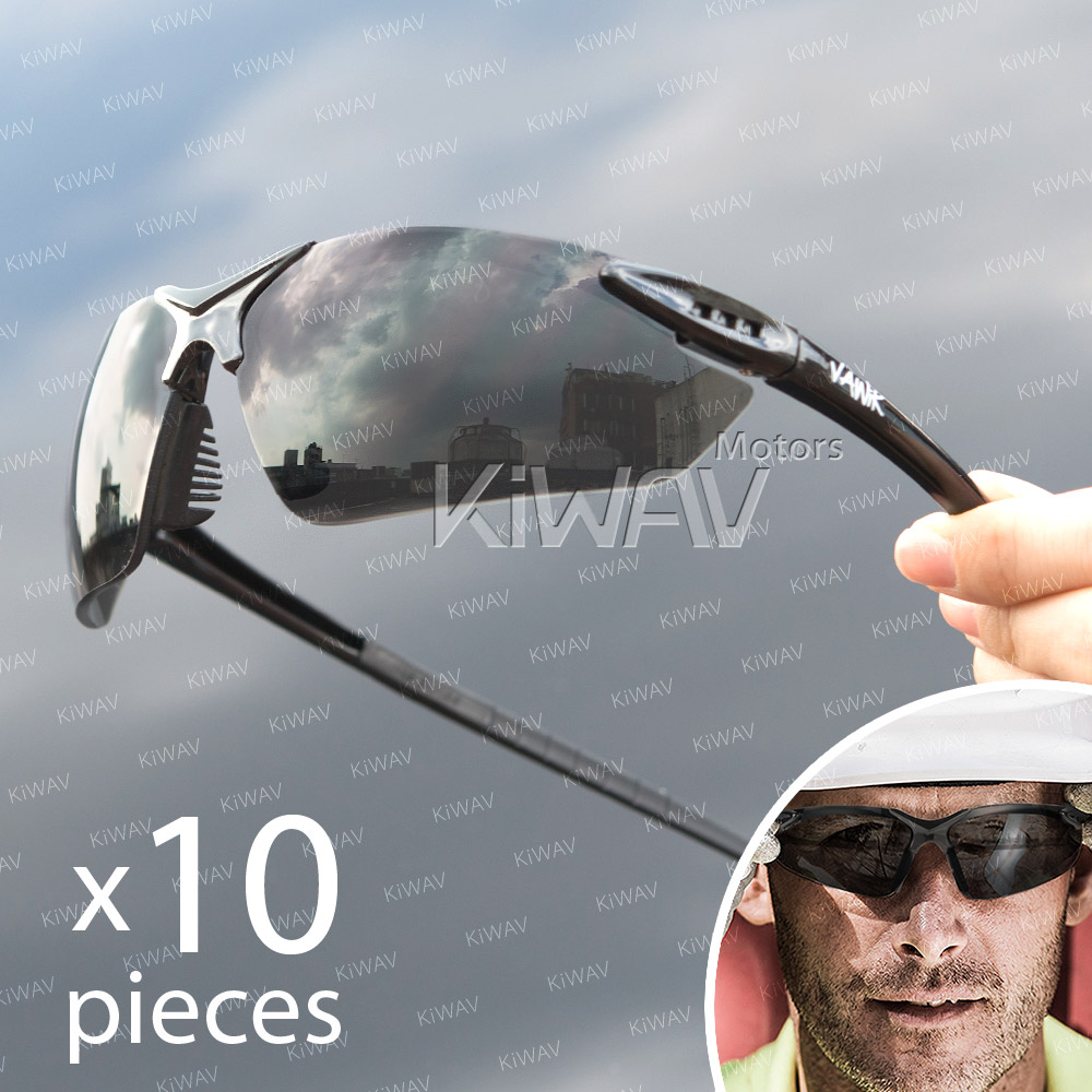 eye protection,Safety glasses, protective eyewear, safety spectacles, safety eyewear ( 10-Pack ),outdoor sports eyewear ,protective sports eyewear ,for workout and casual wear ,bicycle eyewear,Cycling eyewear ,impact resistance Germany new material ,Made