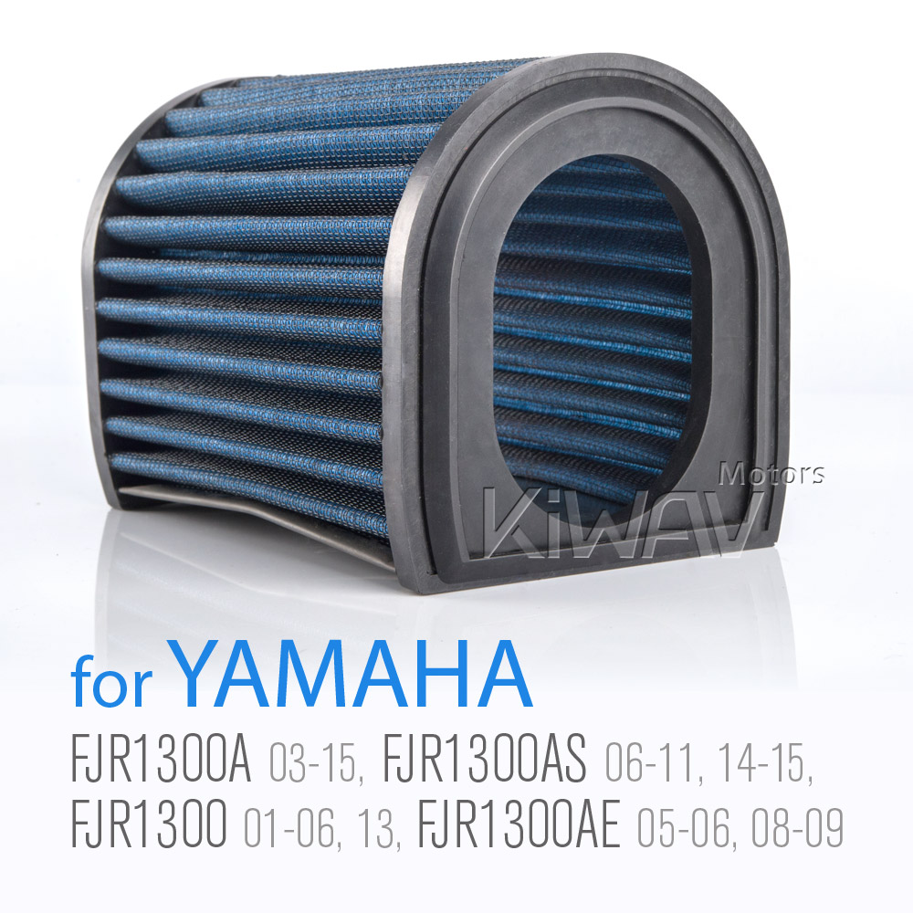 Magazi Air Filter for Yamaha FJR1300 01-06 / 2013,FJR1300A 07-12,FJR1300AS 07-11, OEM part# 5JW-14451-00-00