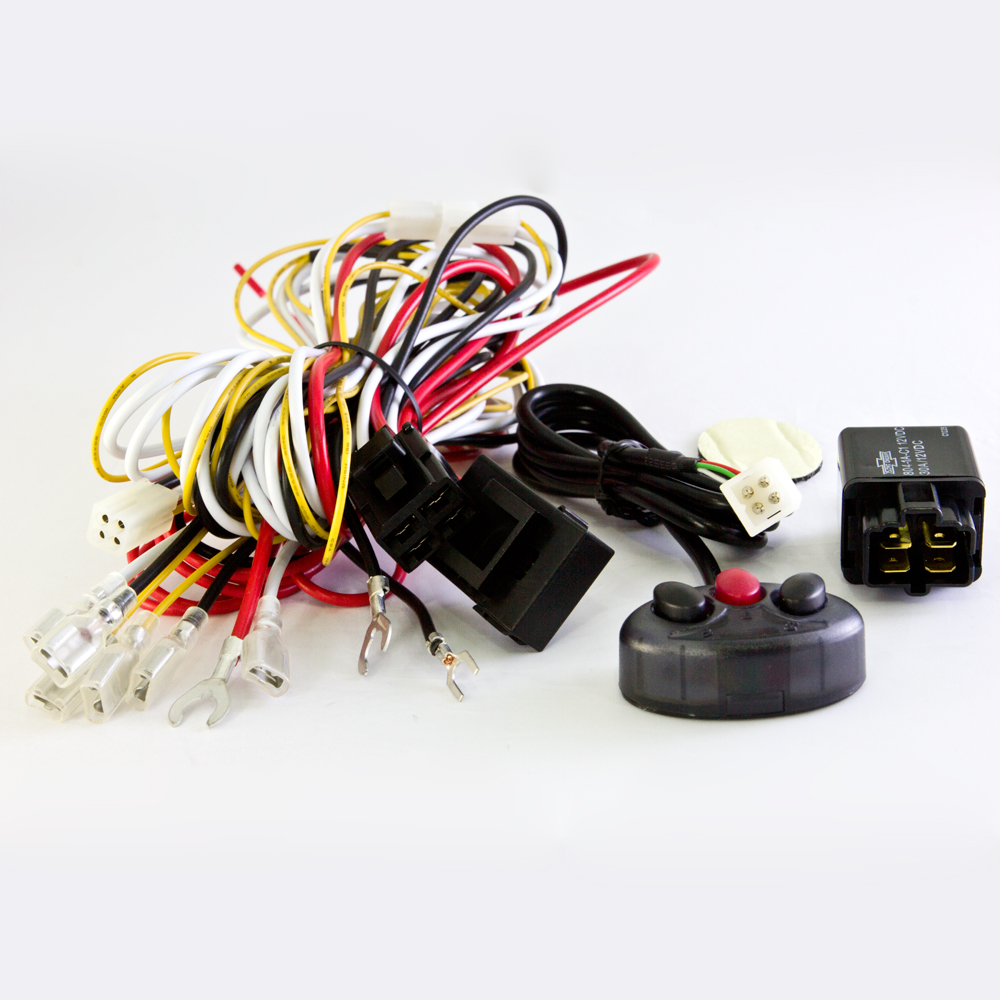 Wiring Harness Kit Cable WK-010, power on/off, lights on/