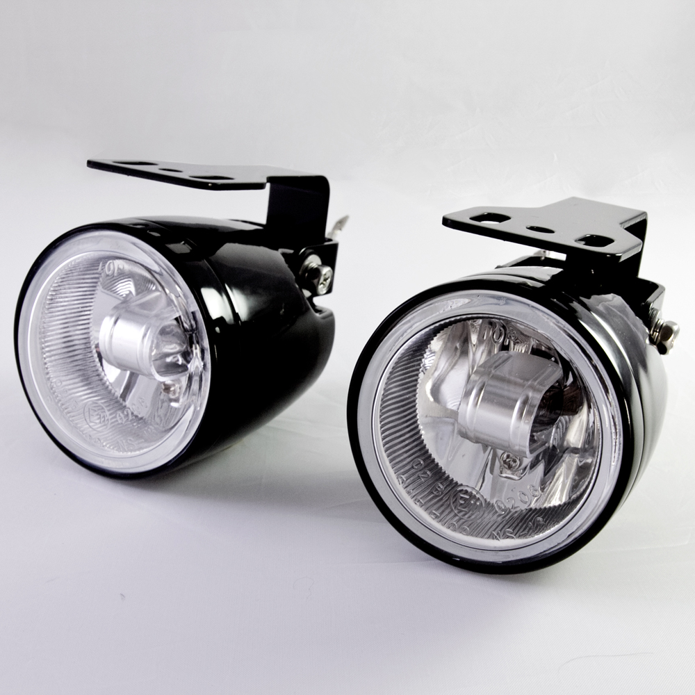 Sirius NS-16 2.5 inch round fog light lamp halogen H3 12V 55W die-cast aluminum housing SAE ECE for motorcycle and car
