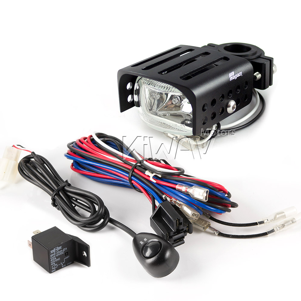 WK003_MG 7021 squarefog clear__1 lights & indicators mg 7021 square fog light & wiring harness