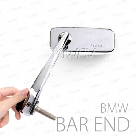 bar end mirrors for BMW motorcycles BMW R nineT 13~BMW R nineT Scrambler 16~BMW R nineT Pure 16~BMW R nineT Racer 16~BMW R nineT Urban G/S 16~BMW C 650 GT 11~BMW C 650 Sport 15~BMW C 600 Sport 11~15BMW F 800 R 14~BMW HP4 12~15BMW S 1000 R 13~B