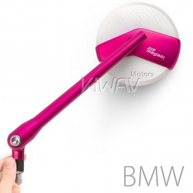 pink mirror BMW moyorcycle