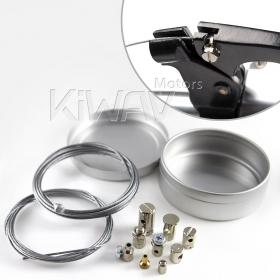 universal clutch and throttle repair kit with collecting case KiWAV