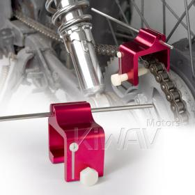motorcycle chain alignment tool KiWAV