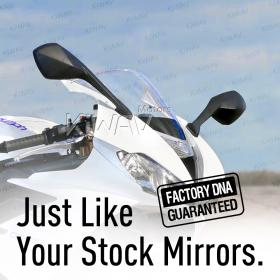 OEM quality replacement mirrors FA-936 for Triumph DAYTONA a pair