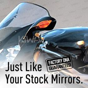 OEM quality replacement mirror FP-319 for Aprilia RSV left hand