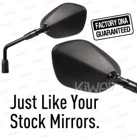 OEM quality replacement mirrors FS-958 for Suzuki Gladius SFV650 a pair