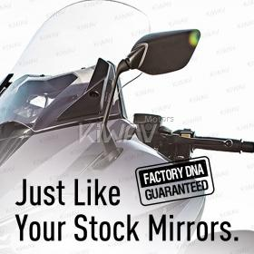 OEM quality replacement mirror FY-126 for Yamaha T-MAX 530 left hand