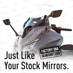 OEM quality replacement mirrors FY-126 for Yamaha T-MAX 530 a pair
