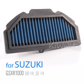 Magazi Air Filter for Suzuki GSXR1000 09-13, OEM part# 13780-47H00