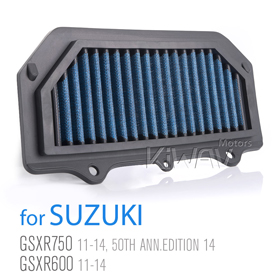 Magazi Air Filter for Suzuki GSR750 11-13,GSR600 06-11