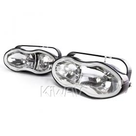 Sirius NS-119 halogen dual lights aluminum H3 12V 55W ET wave headlight headlamp