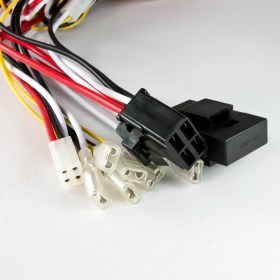 Wiring Harness Kit Cable WK-010, power on/off, lights on/off, LED on/off, 3 button switch SIRIUS
