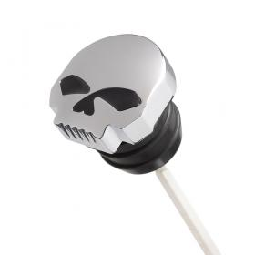KiWAV Oil dipstick with skull cap for Harley Davidson 3 3/4 inches