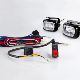Sirius NS-1 Fog light with wiring harness and black fog light switch