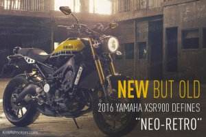 "New But Old. 2016 Yamaha XSR900 Defines ""Neo-Retro"""