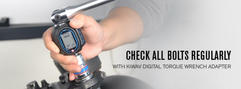 Check All Bolts Regularly - With KiWAV Digital Torque Wrench Adapter