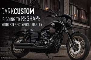"""Dark Custom"" Is Going to Reshape Your Stereotypical Harley"