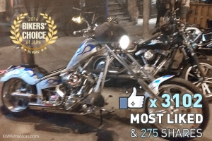 [Biker's Voted] Favorite Bikes in June 2016
