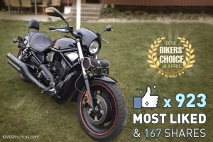 [Biker's Voted] Favorite Bikes in April 2016